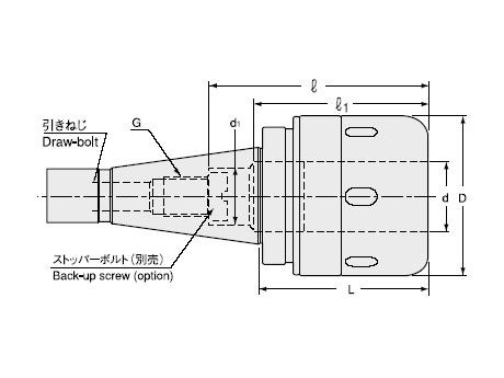 Super Tite-Lock Milling Chuck (NT Shank Type)